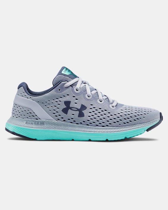Women's UA Charged Impulse Running Shoes, Blue, pdpMainDesktop image number 0