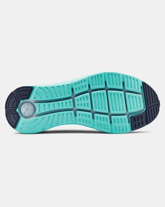 Women's UA Charged Impulse Running Shoes, Blue, pdpMainDesktop image number 2