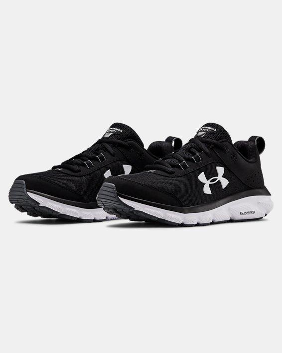 Chaussures de running UA Charged Assert 8 pour femme, Black, pdpMainDesktop image number 1