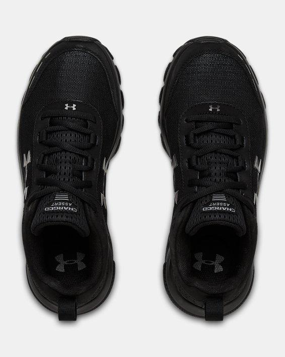 Women's UA Charged Assert 8 Running Shoes, Black, pdpMainDesktop image number 2