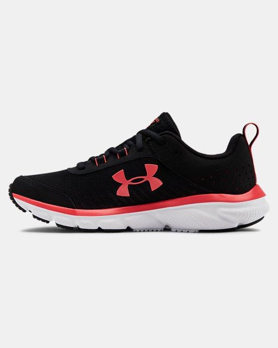 Women's UA Charged Assert 8 Running Shoes, Black, pdpMainDesktop image number 1