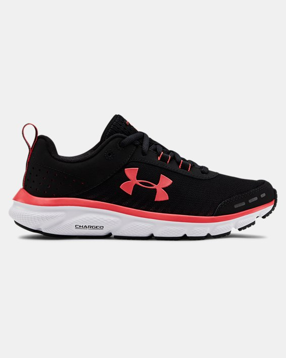 Women's UA Charged Assert 8 Running Shoes, Black, pdpMainDesktop image number 0