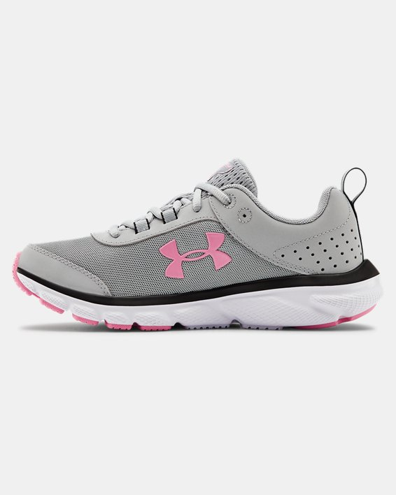 Women's UA Charged Assert 8 Running Shoes, Gray, pdpMainDesktop image number 1