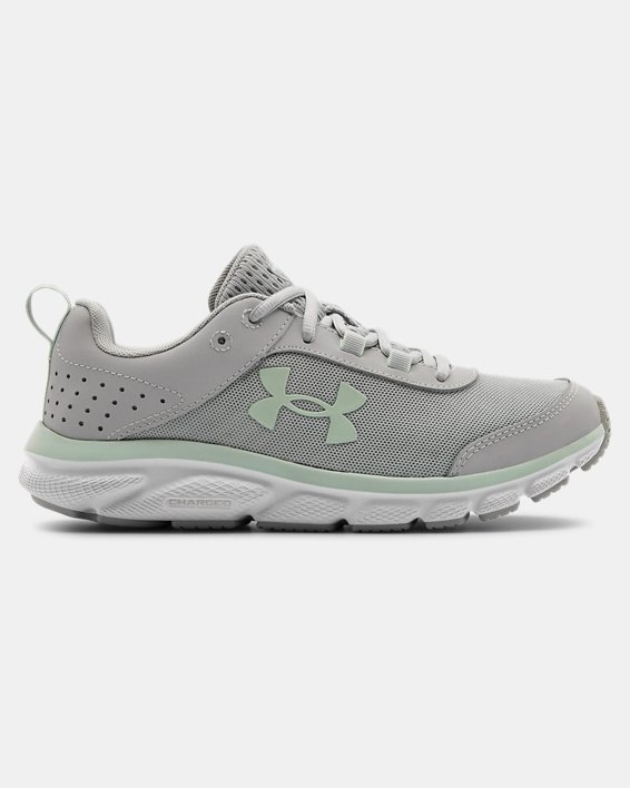 Women's UA Charged Assert 8 Running Shoes, Gray, pdpMainDesktop image number 0