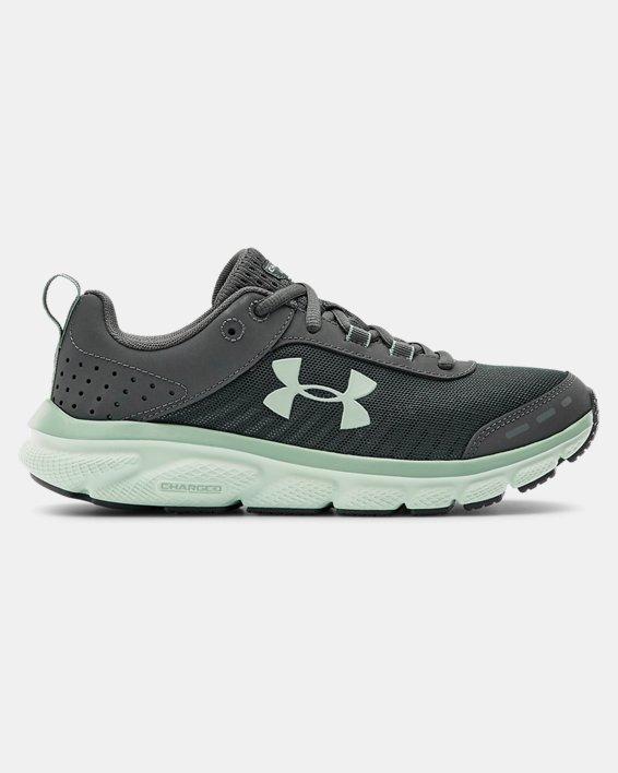 Women's UA Charged Assert 8 Running Shoes, Gray, pdpMainDesktop image number 0