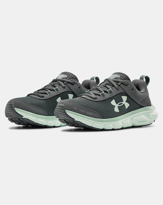 Women's UA Charged Assert 8 Running Shoes, Gray, pdpMainDesktop image number 3