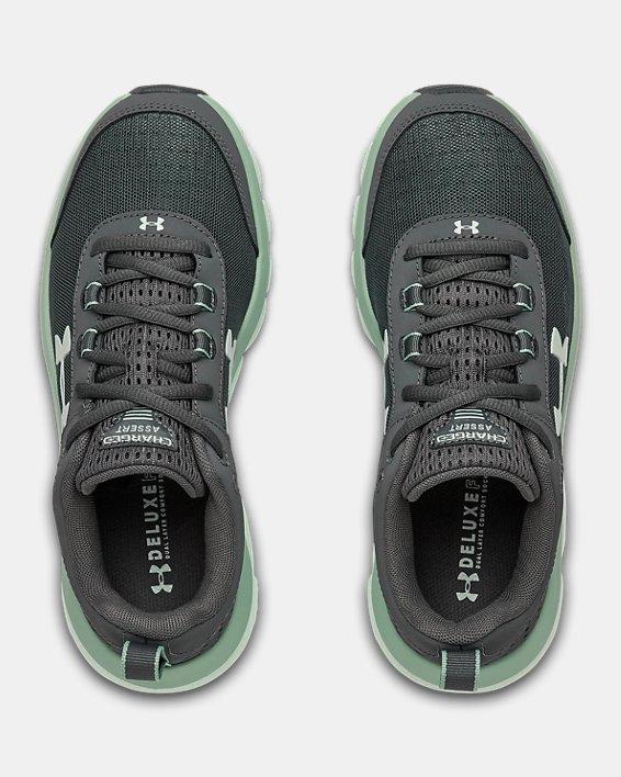 Women's UA Charged Assert 8 Running Shoes, Gray, pdpMainDesktop image number 2