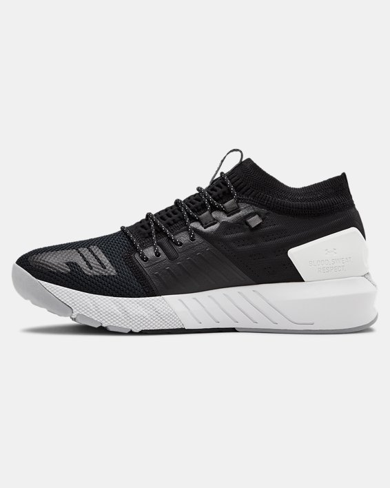 Men's UA Project Rock 2 Training Shoes, Black, pdpMainDesktop image number 1