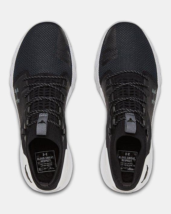 Men's UA Project Rock 2 Training Shoes, Black, pdpMainDesktop image number 3