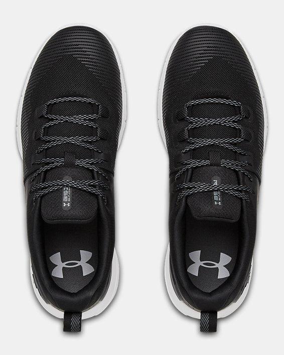 Men's UA HOVR™ Rise Training Shoes, Black, pdpMainDesktop image number 3