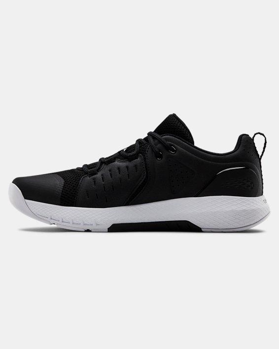 Men's UA Charged Commit 2 Training Shoes, Black, pdpMainDesktop image number 1