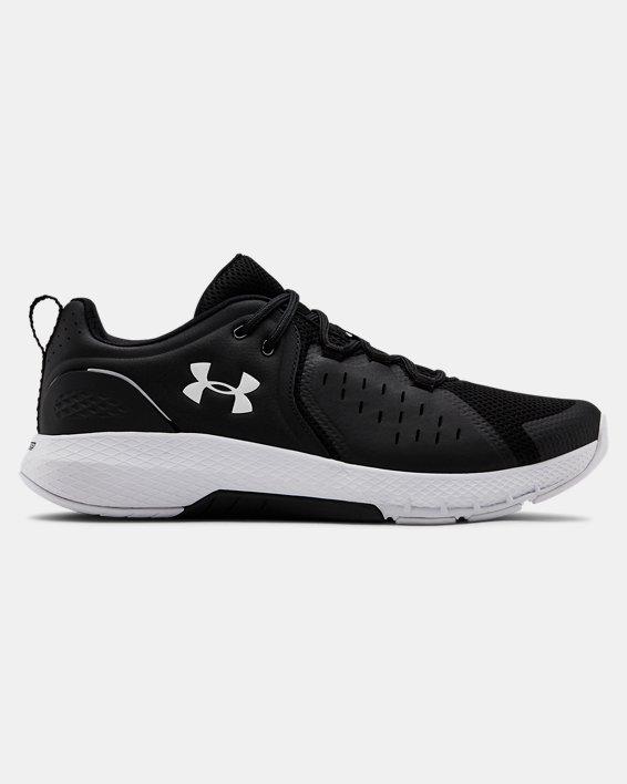 Men's UA Charged Commit 2 Training Shoes, Black, pdpMainDesktop image number 0