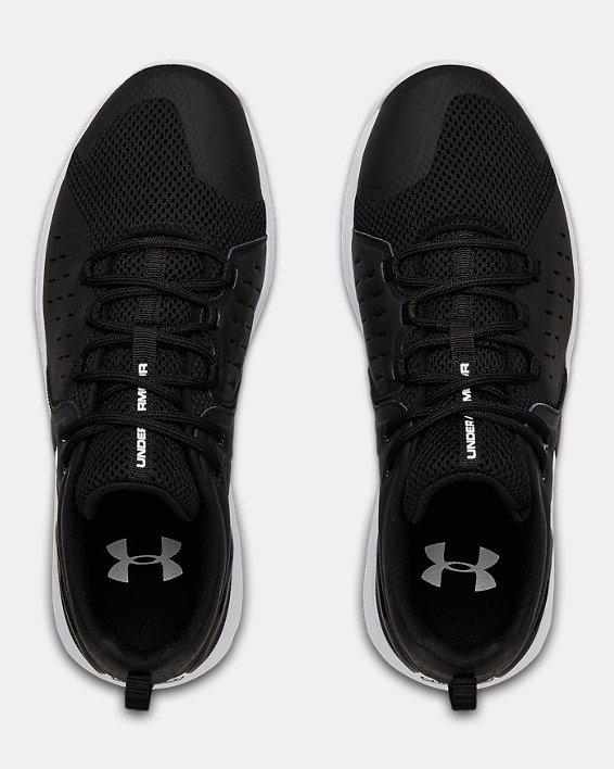 Men's UA Charged Commit 2 Training Shoes, Black, pdpMainDesktop image number 3