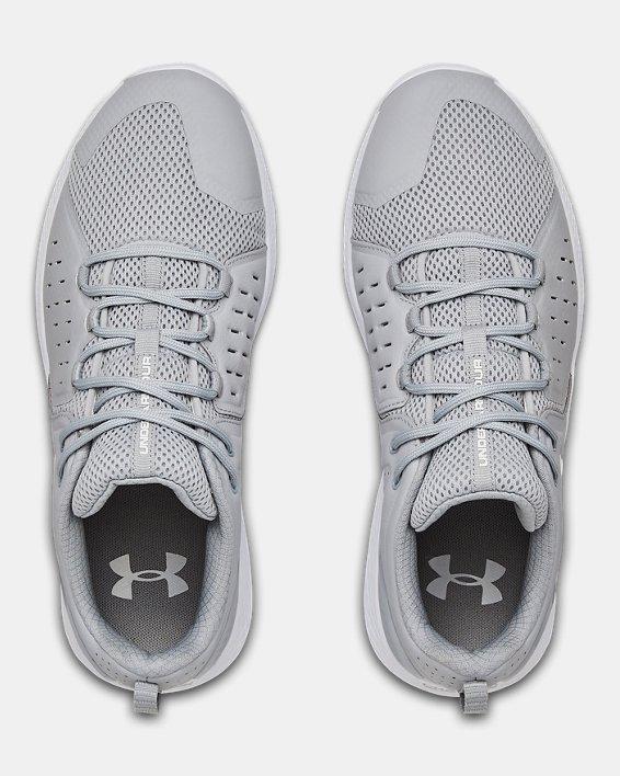 Men's UA Charged Commit 2 Training Shoes, Gray, pdpMainDesktop image number 3