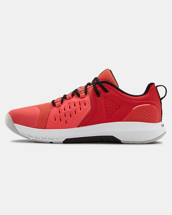 Men's UA Charged Commit 2 Training Shoes, Red, pdpMainDesktop image number 1