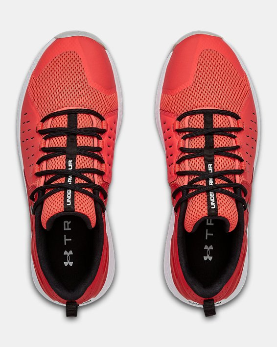 Men's UA Charged Commit 2 Training Shoes, Red, pdpMainDesktop image number 3