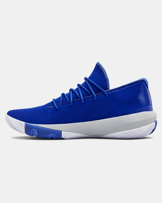 Men's UA SC 3ZER0 III Basketball Shoes, Blue, pdpMainDesktop image number 1