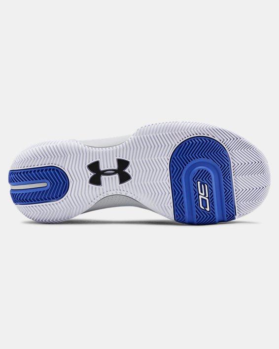Men's UA SC 3ZER0 III Basketball Shoes, Blue, pdpMainDesktop image number 2