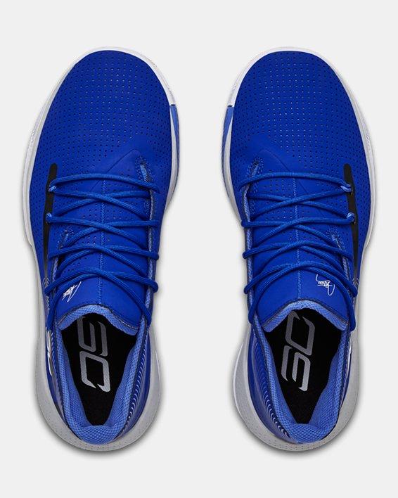 Men's UA SC 3ZER0 III Basketball Shoes, Blue, pdpMainDesktop image number 3