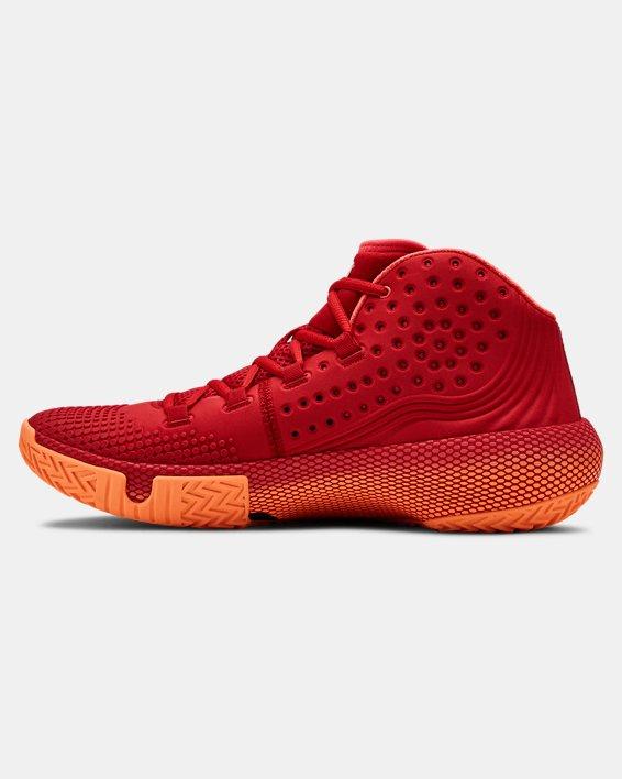 Men's UA HOVR™ Havoc 2 Basketball Shoes, Red, pdpMainDesktop image number 1