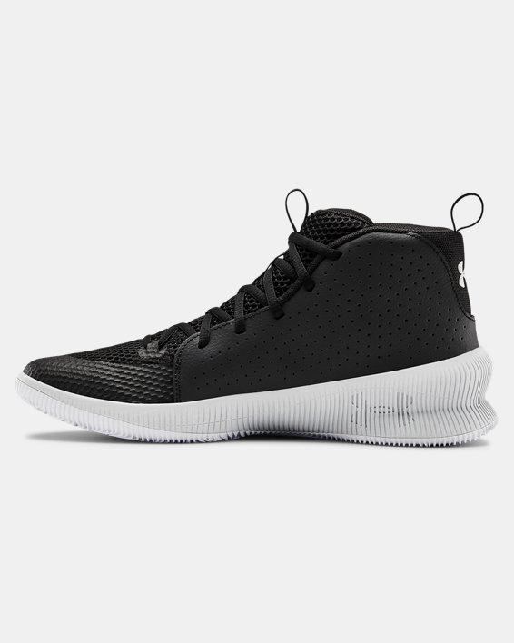 Men's UA Jet Basketball Shoes, Black, pdpMainDesktop image number 1