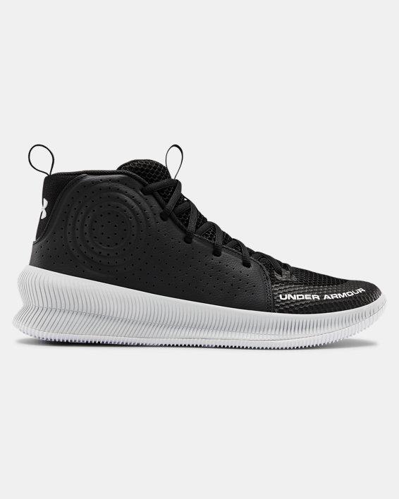Men's UA Jet Basketball Shoes, Black, pdpMainDesktop image number 0