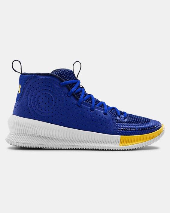 Men's UA Jet Basketball Shoes, Blue, pdpMainDesktop image number 0