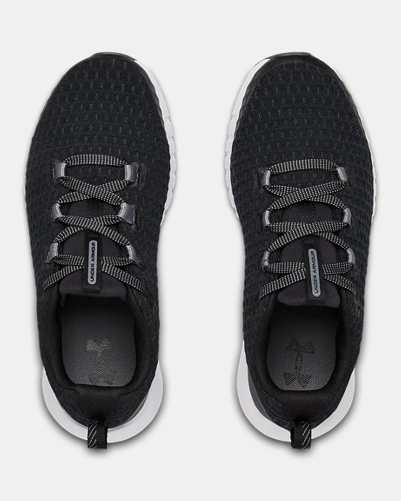 Grade School UA Suspend Shoes, Black, pdpMainDesktop image number 2