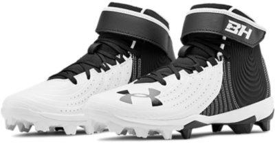 Baseball Shoe Under Armour Kids Harper 4 Mid Rm Jr