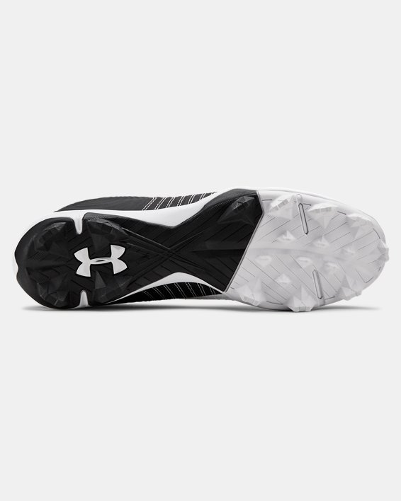 Men's UA Harper 4 Low RM. Baseball Cleats, White, pdpMainDesktop image number 2