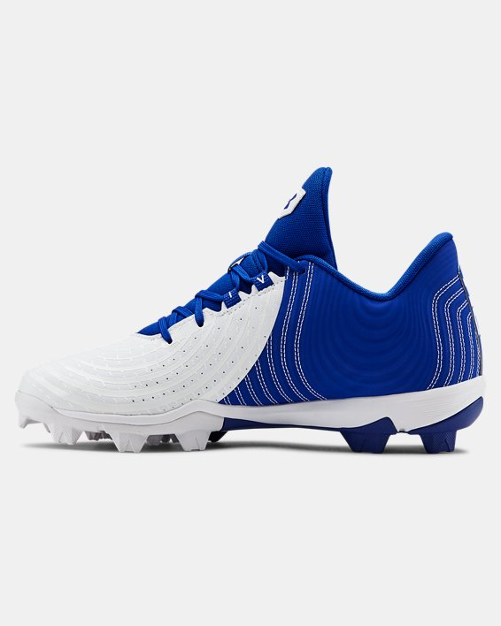 Men's UA Harper 4 Low RM. Baseball Cleats, Blue, pdpMainDesktop image number 1