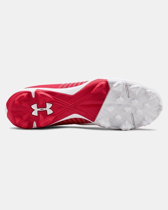 Men's UA Harper 4 Low RM. Baseball Cleats, Red, pdpMainDesktop image number 2