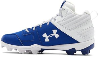 Under Armour Mens Leadoff Mid Rm Baseball Shoe