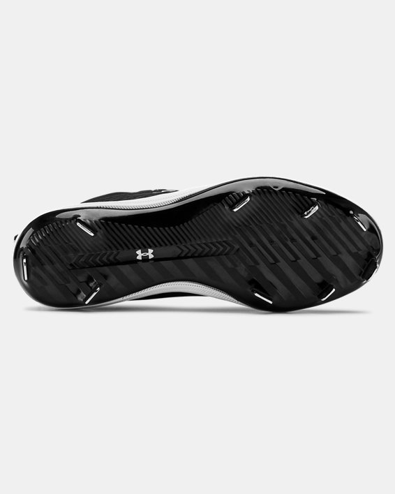 Women's UA Glyde ST Softball Cleats, Black, pdpMainDesktop image number 2