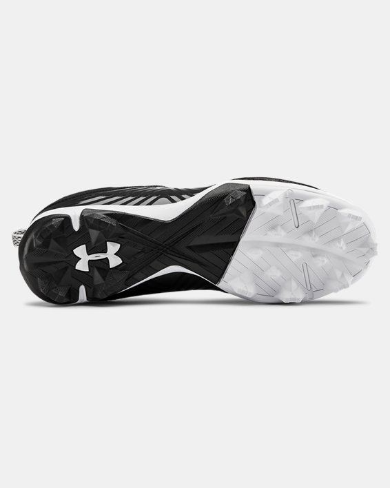 Women's UA Glyde RM Softball Cleats, Black, pdpMainDesktop image number 2