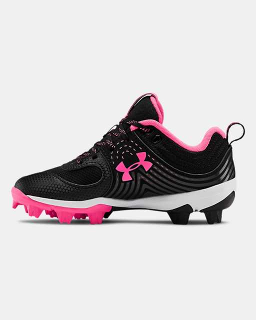 Girls' UA Glyde RM Jr. Softball Cleats