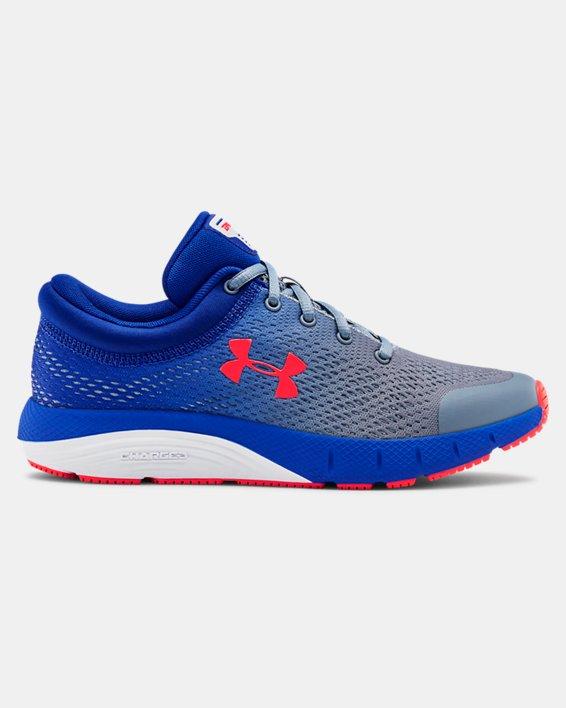 Grade School UA Bandit 5 Running Shoes, Gray, pdpMainDesktop image number 0