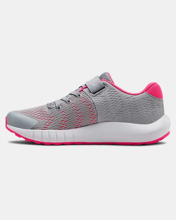 Pre-School UA Pursuit BP AC Running Shoes, Gray, pdpMainDesktop image number 1