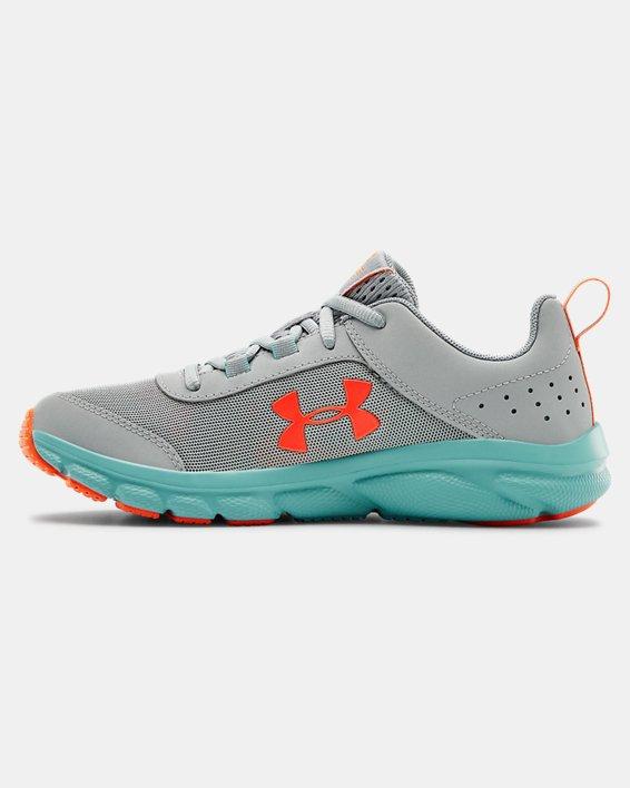 Grade School UA Assert 8 Running Shoes, Blue, pdpMainDesktop image number 1