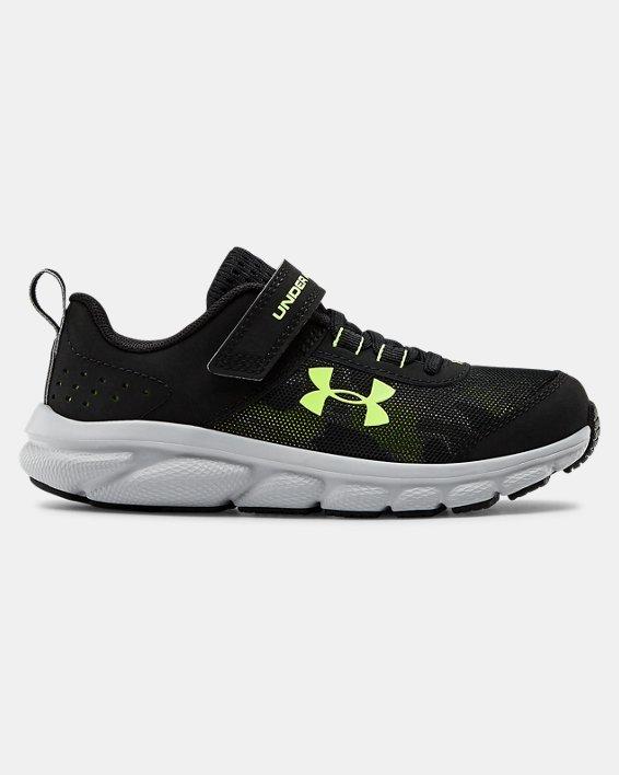 Pre-School UA Assert 8 AC Running Shoes Running Shoes, Black, pdpMainDesktop image number 0
