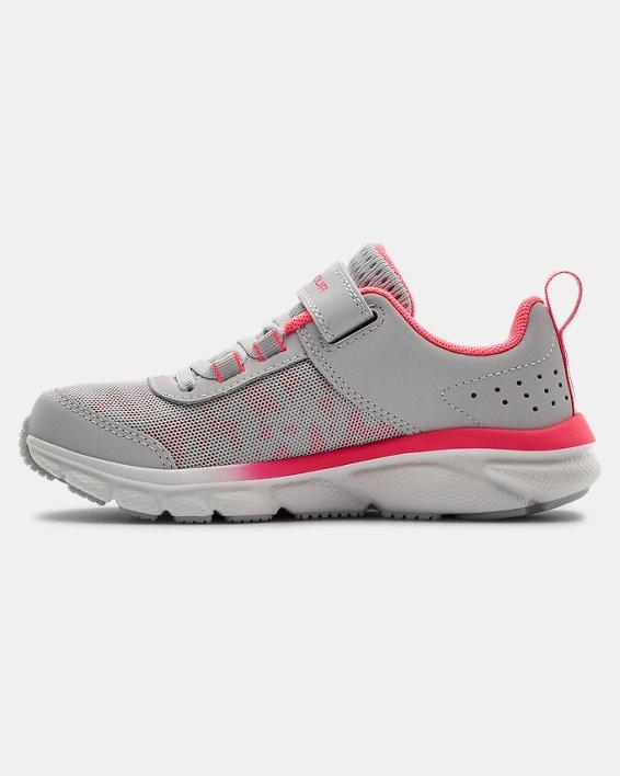 Pre-School UA Assert 8 AC Running Shoes Running Shoes, Gray, pdpMainDesktop image number 1