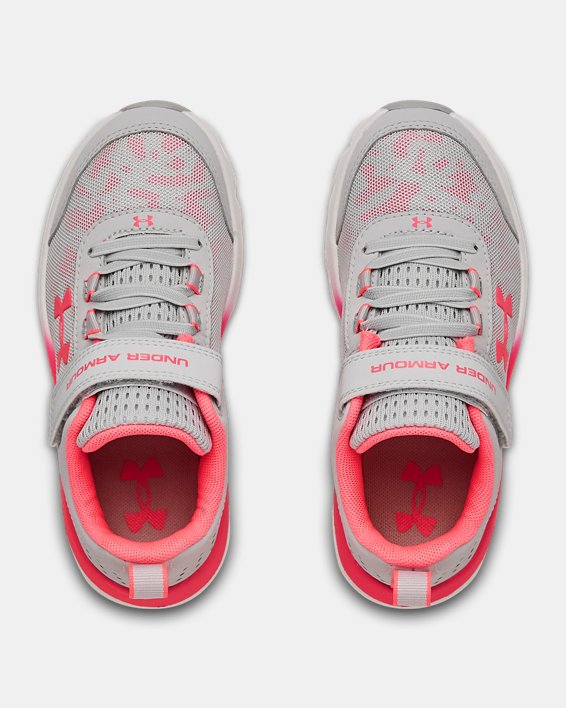 Pre-School UA Assert 8 AC Running Shoes Running Shoes, Gray, pdpMainDesktop image number 2