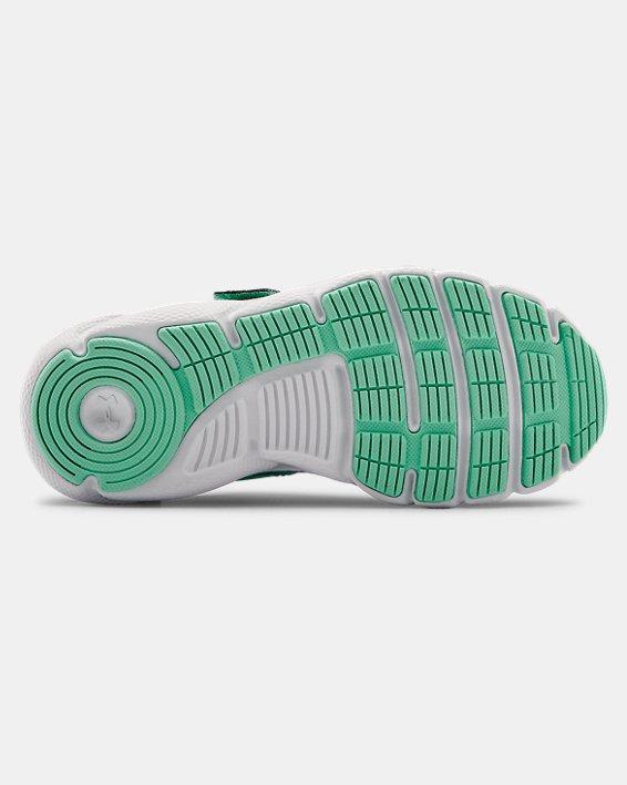 Pre-School UA Assert 8 AC Running Shoes Running Shoes, Green, pdpMainDesktop image number 4