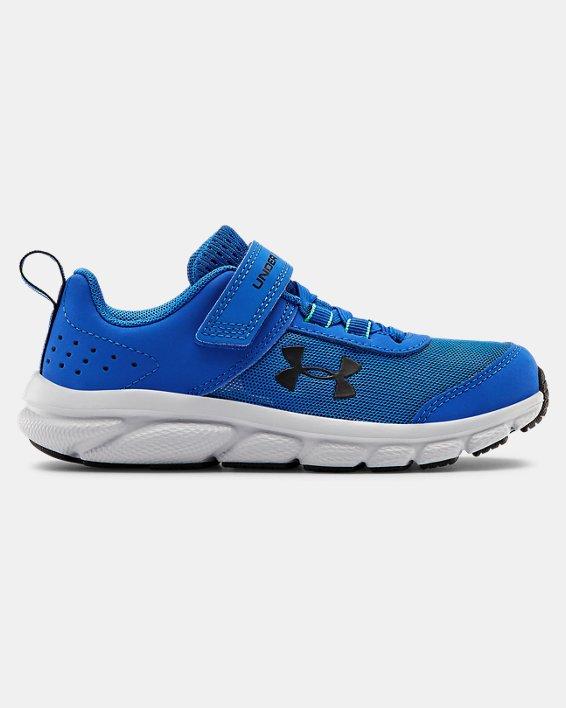 Pre-School UA Assert 8 AC Running Shoes Running Shoes, Blue, pdpMainDesktop image number 0