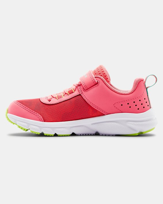 Pre-School UA Assert 8 AC Running Shoes Running Shoes, Pink, pdpMainDesktop image number 1