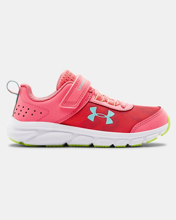 Pre-School UA Assert 8 AC Running Shoes Running Shoes, Pink, pdpMainDesktop image number 0