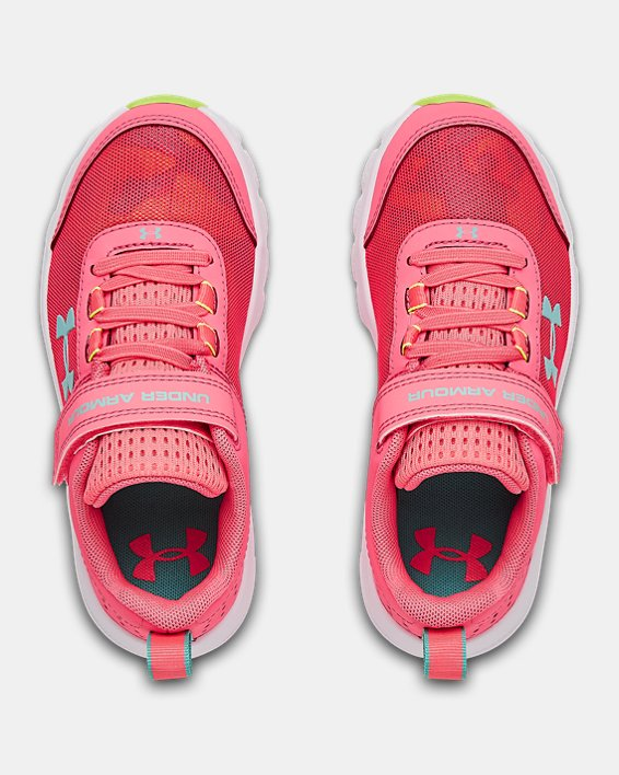 Pre-School UA Assert 8 AC Running Shoes Running Shoes, Pink, pdpMainDesktop image number 2