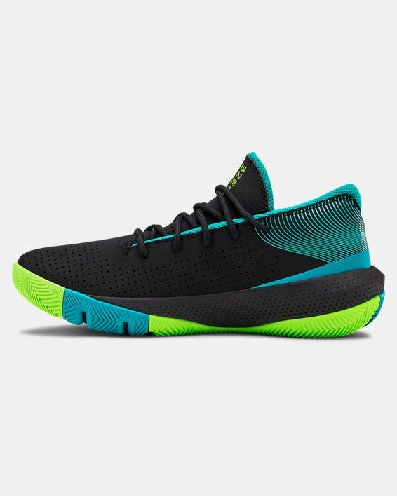 Grade School UA SC 3ZER0 III Basketball Shoes, Black, pdpMainDesktop image number 1