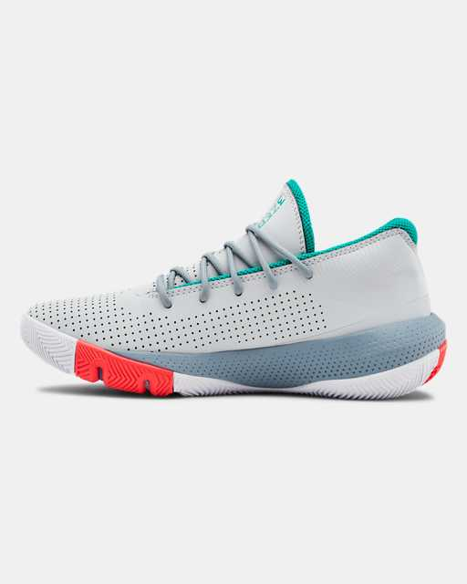 Grade School UA SC 3ZER0 III Basketball Shoes