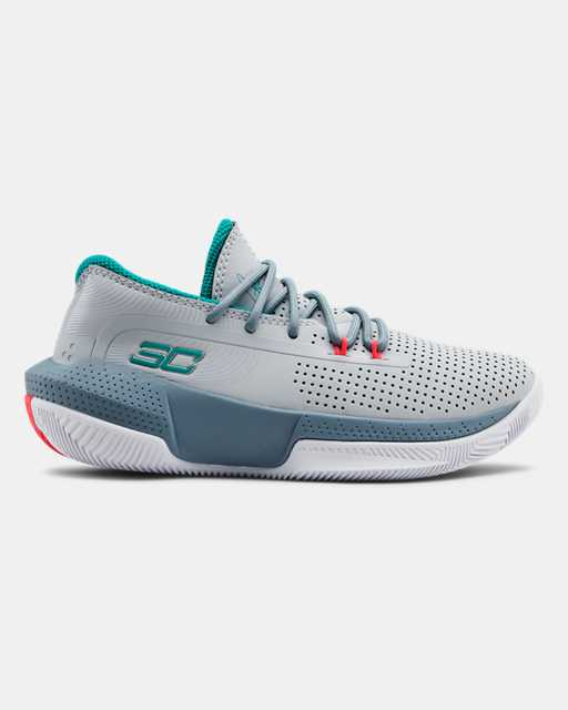 Pre-School UA SC 3ZER0 III Basketball Shoes
